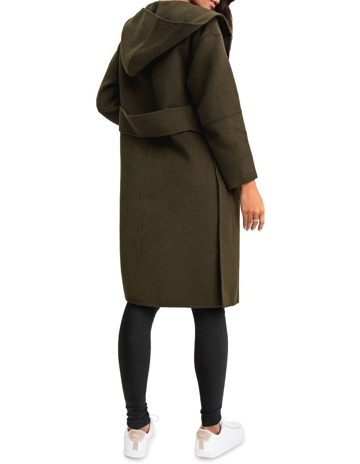 Walk This way Military Wool blend Oversized Coat image 3