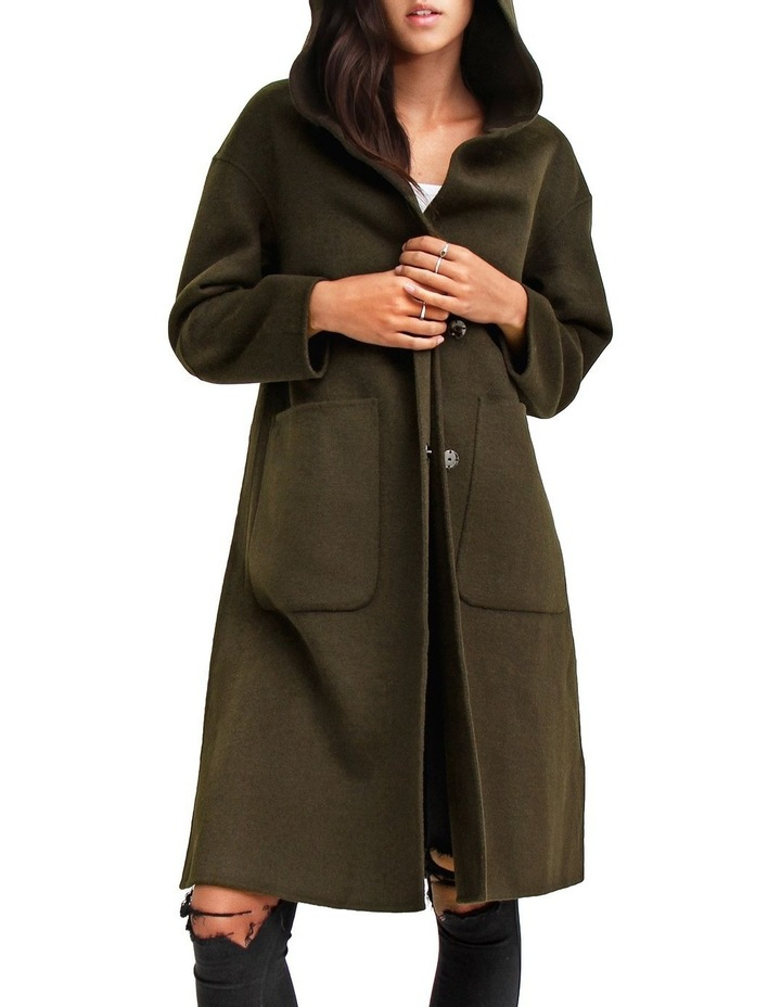 Walk This way Military Wool blend Oversized Coat image 4