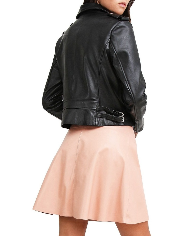 Just Friends JUF100BLK Black Leather Jacket image 3