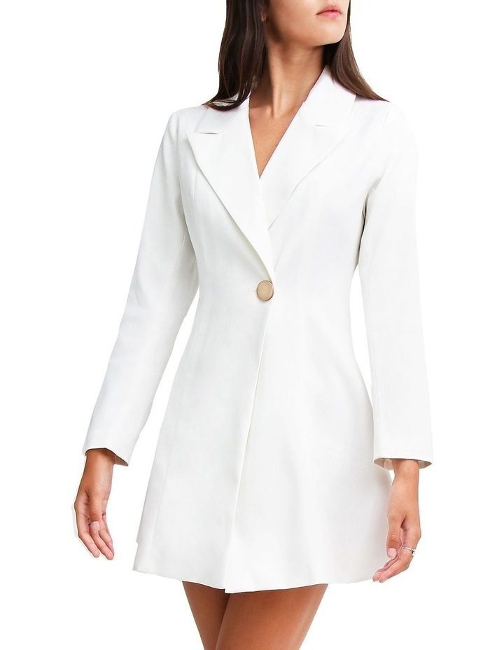 The Avenue Blazer White Dress image 1