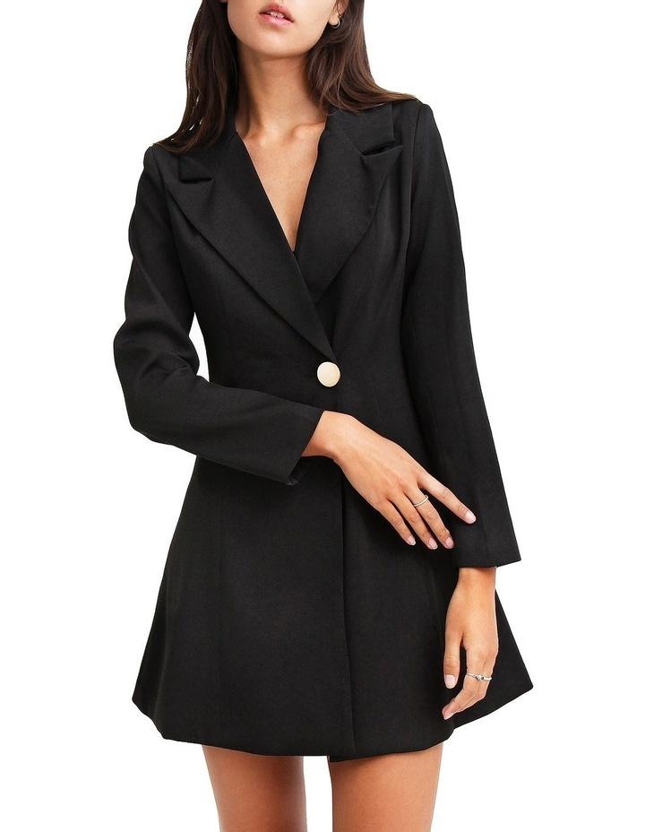 The Avenue Black Blazer Dress image 1