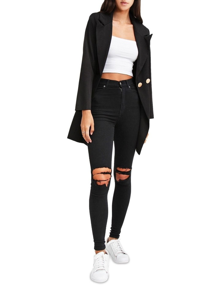 The Avenue Black Blazer Dress image 5
