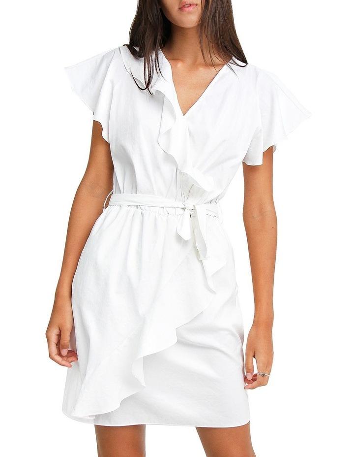 Best Selfie white Ruffle Dress image 1
