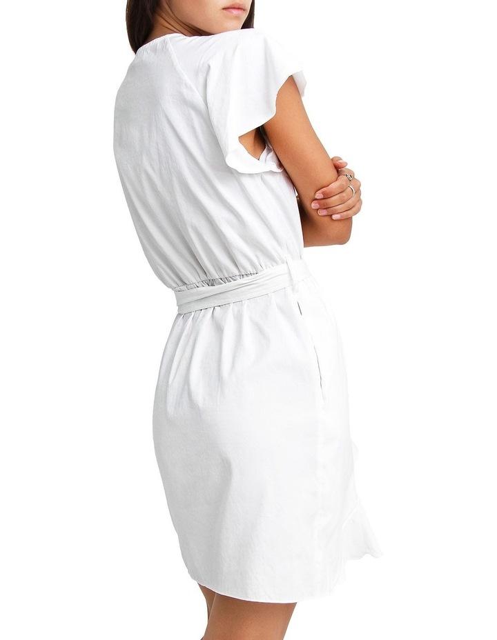 Best Selfie white Ruffle Dress image 3