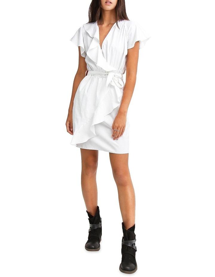 Best Selfie white Ruffle Dress image 4