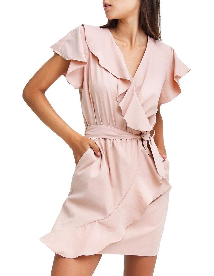 Best Selfie Blush Ruffle Dress image 1