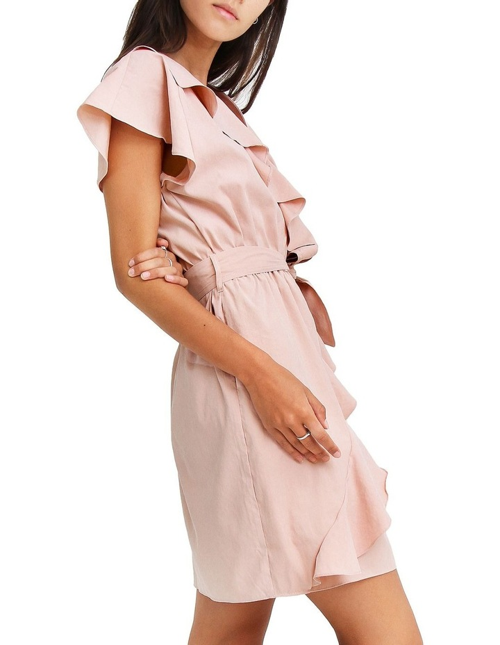 Best Selfie Blush Ruffle Dress image 3
