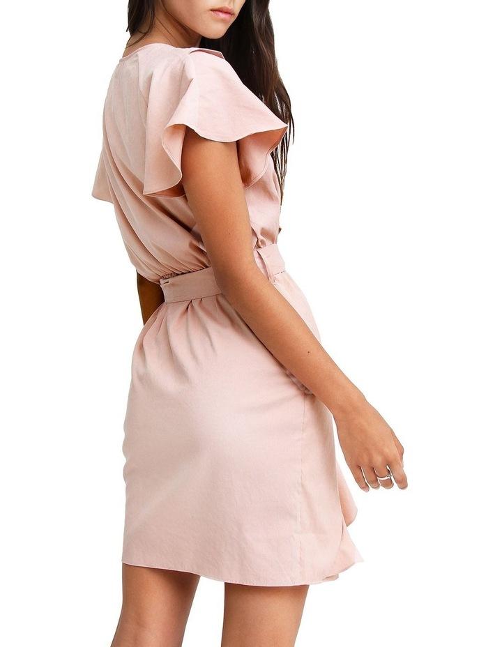 Best Selfie Blush Ruffle Dress image 4