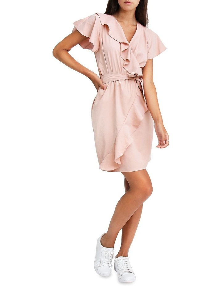 Best Selfie Blush Ruffle Dress image 5