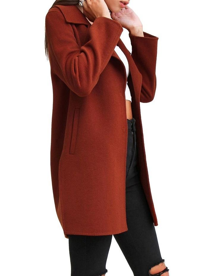Ex Boyfriend Caramel Blend Oversized Jacket EXBX00CARA image 2