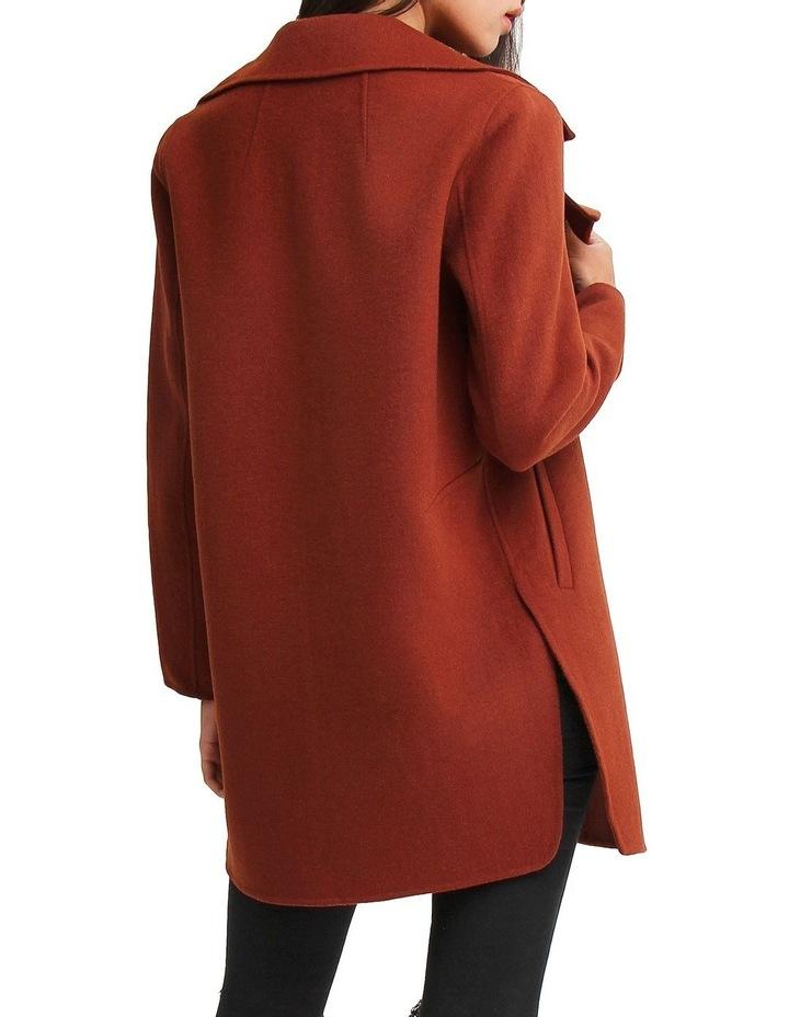 Ex Boyfriend Caramel Blend Oversized Jacket EXBX00CARA image 3