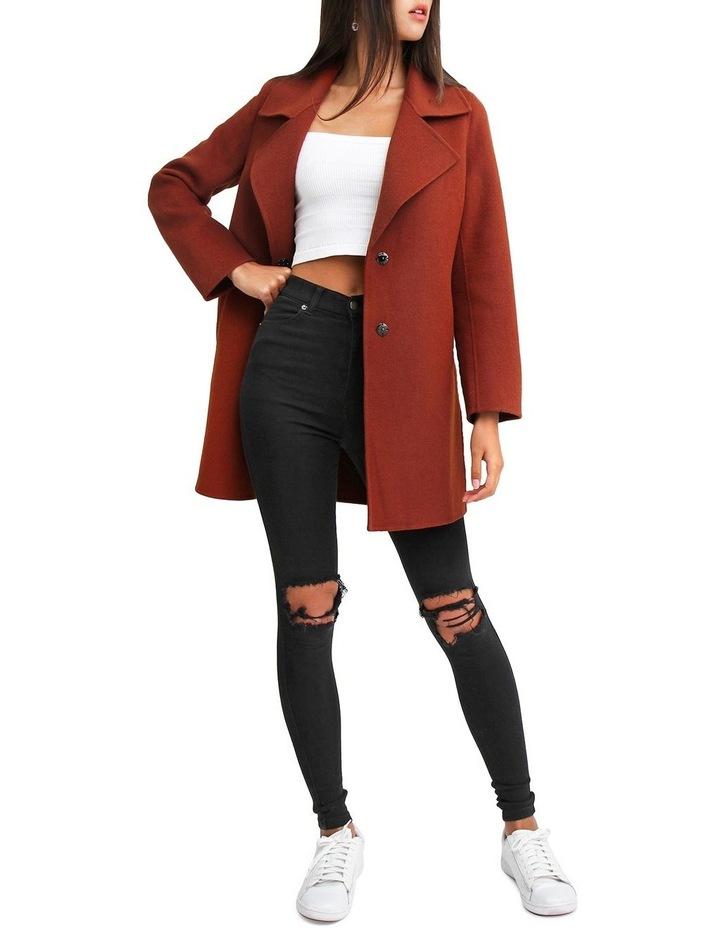Ex Boyfriend Caramel Blend Oversized Jacket EXBX00CARA image 4