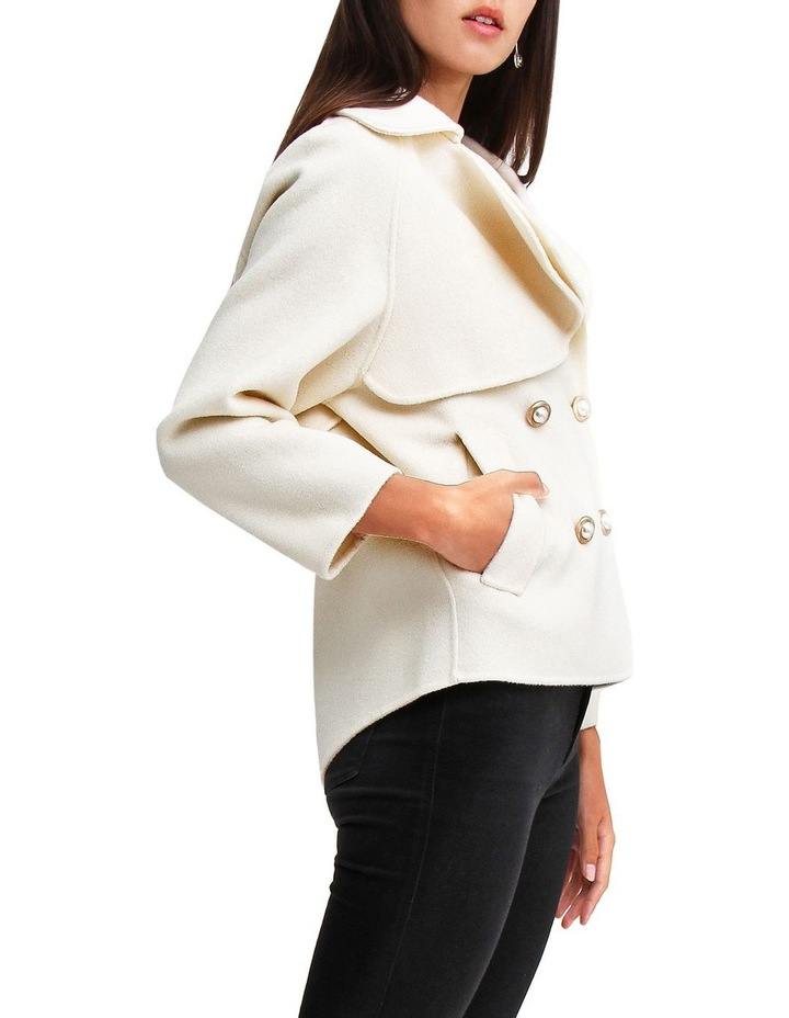 I'm Yours Cream Wool Blend Peacoat image 2