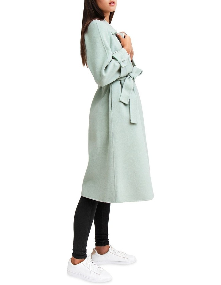 Shore To Shore Belted Wool Coat STS300MINT image 2