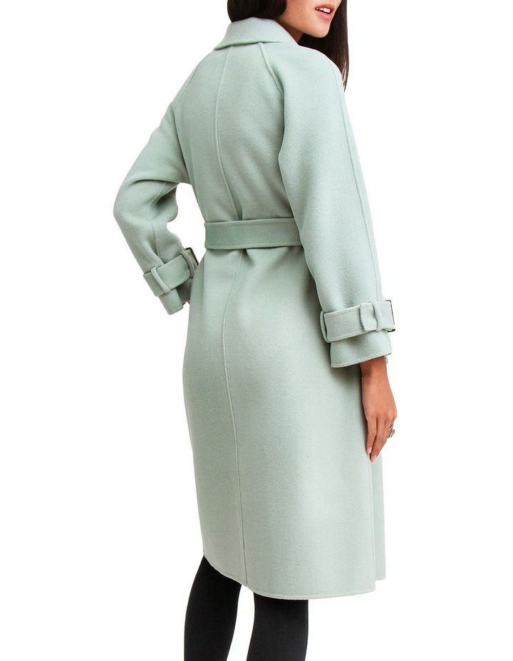Shore To Shore Belted Wool Coat STS300MINT image 3