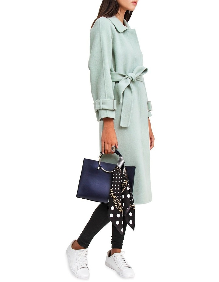 Shore To Shore Belted Wool Coat STS300MINT image 4