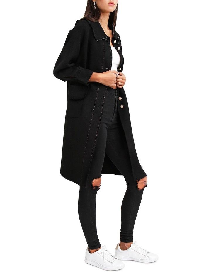 Lived In Love Black Wool Blend Coat image 2