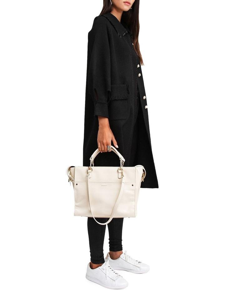 Lived In Love Black Wool Blend Coat image 4
