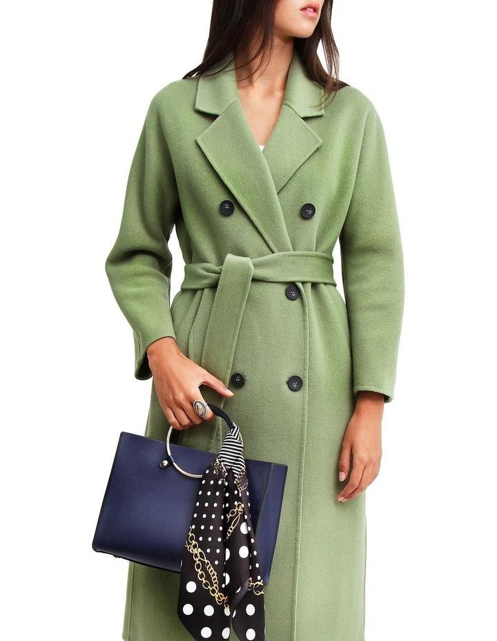Boss Girl Double-Breasted BOGI100KIWI Wool Coat image 1