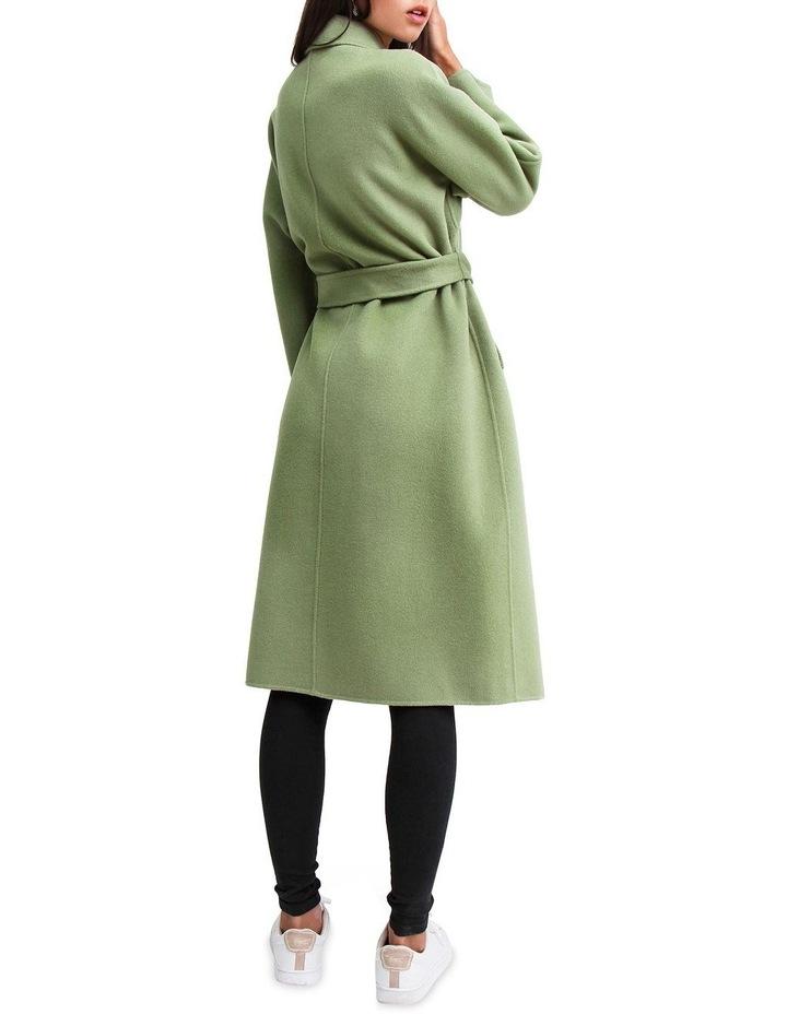 Boss Girl Double-Breasted BOGI100KIWI Wool Coat image 3
