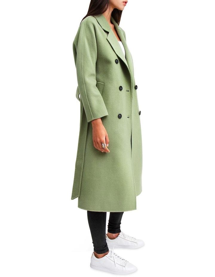 Boss Girl Double-Breasted BOGI100KIWI Wool Coat image 6