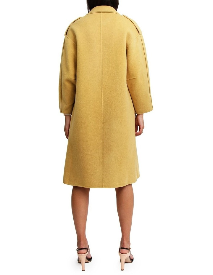 Aussie Sky Saffron Double-Breasted Wool Coat image 3