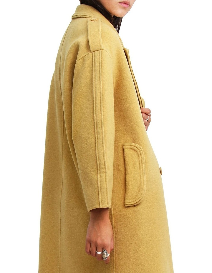 Aussie Sky Saffron Double-Breasted Wool Coat image 6
