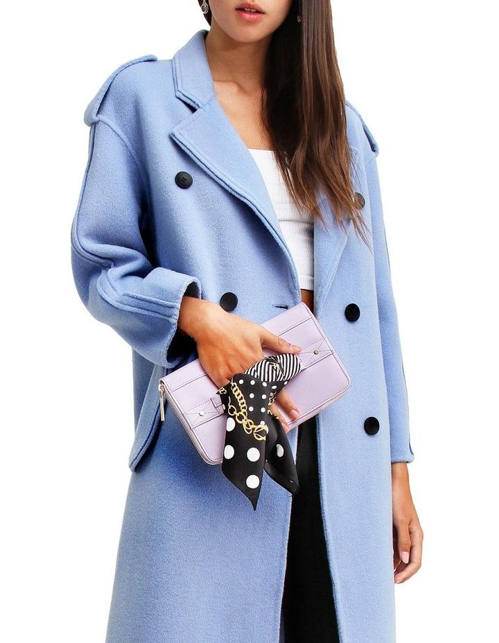 Aussie Sky Blue-Breasted Wool Coat image 4