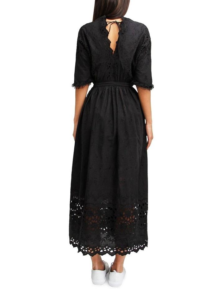 All Eyes On You Black Midi Dress image 3