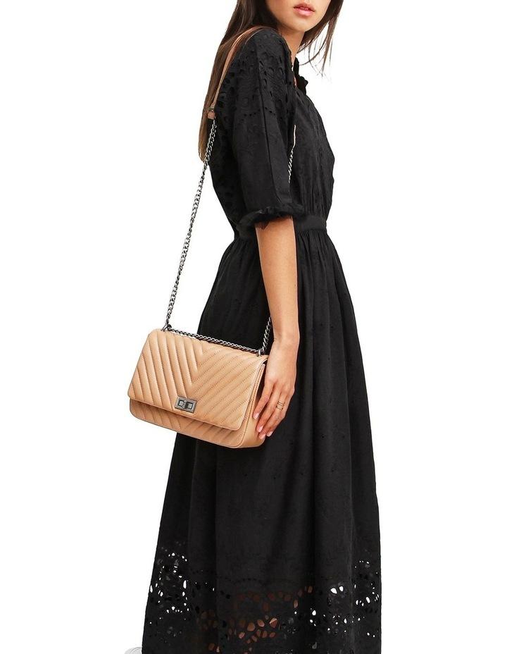 All Eyes On You Black Midi Dress image 4