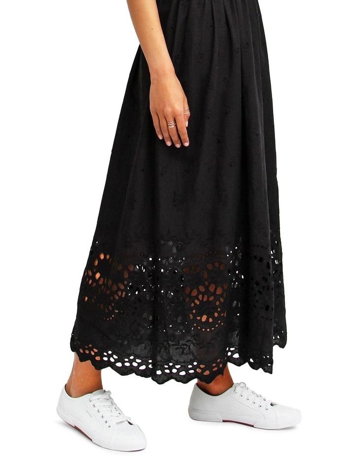 All Eyes On You Black Midi Dress image 5