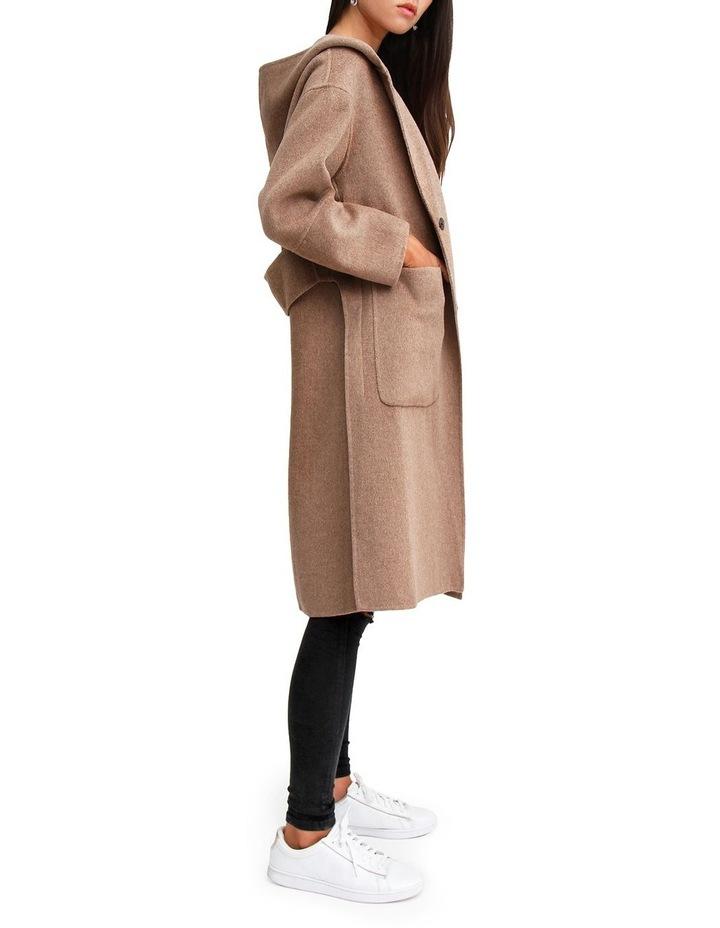 Walk This Way Oat Wool Blend Oversized Coat WTWX20OAT image 2