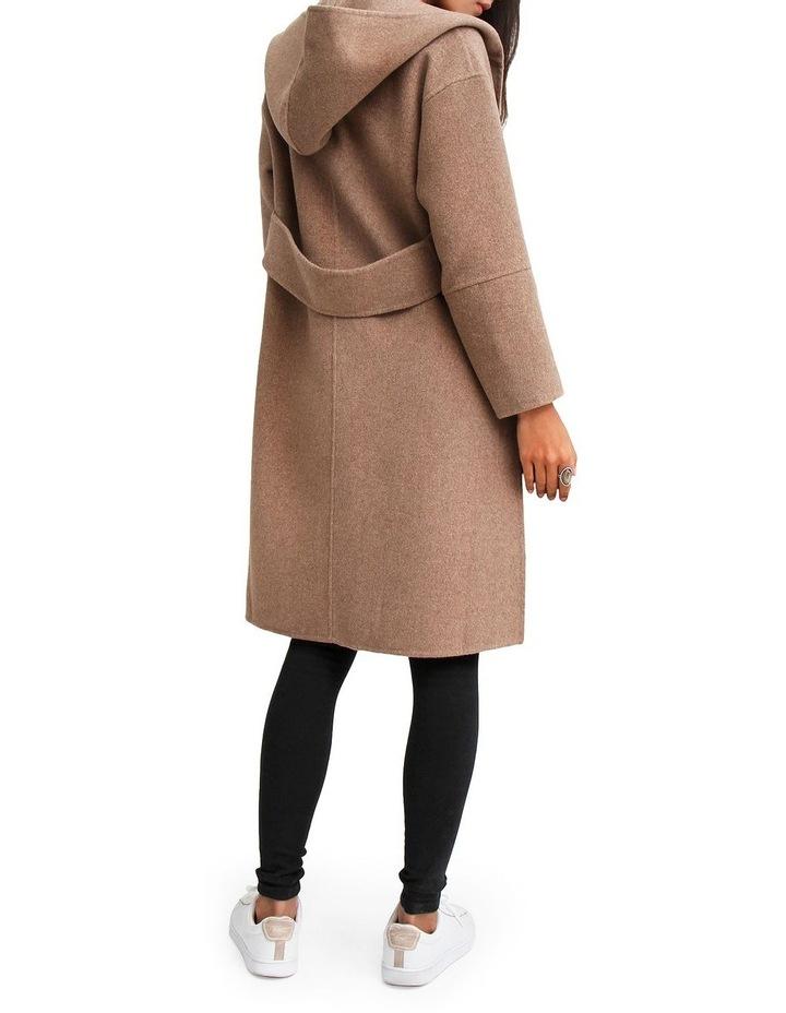Walk This Way Oat Wool Blend Oversized Coat WTWX20OAT image 3