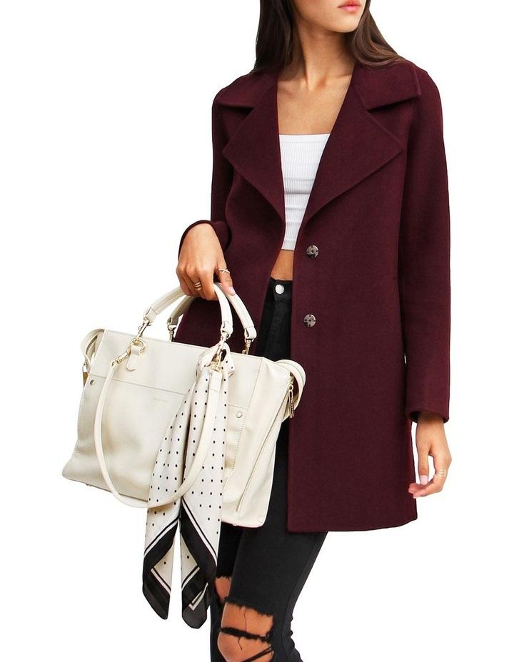 Ex-Boyfriend Aubergine Blend Oversized Jacket image 4