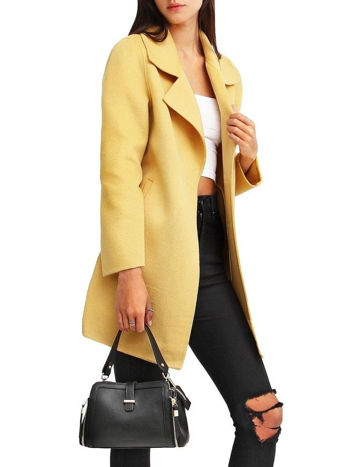 Ex-Boyfriend Wool Blend Oversized Jacket - Maize image 5