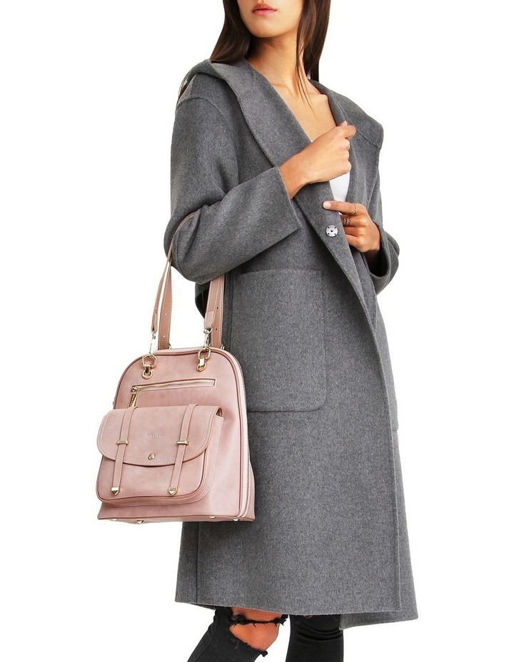 Walk This Way Wool Blend Oversized Coat - Dark Grey image 4