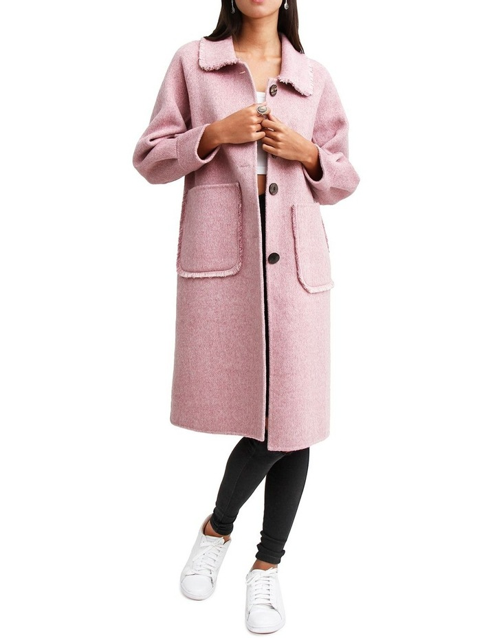Lived In Love Lilac Wool Blend Coat image 1