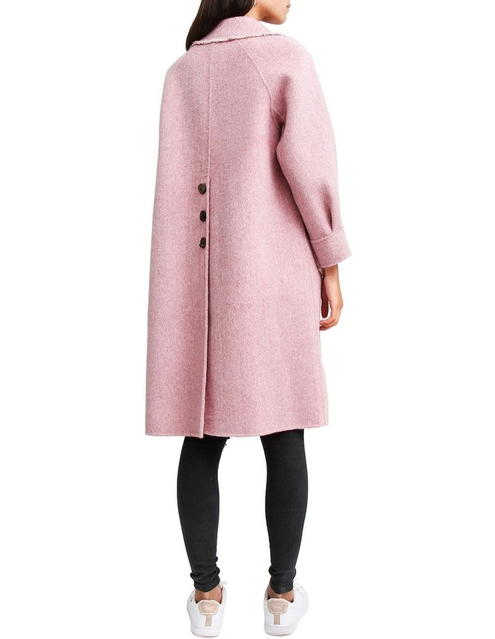 Lived In Love Lilac Wool Blend Coat image 3