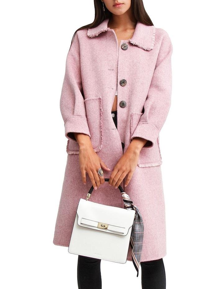 Lived In Love Lilac Wool Blend Coat image 5