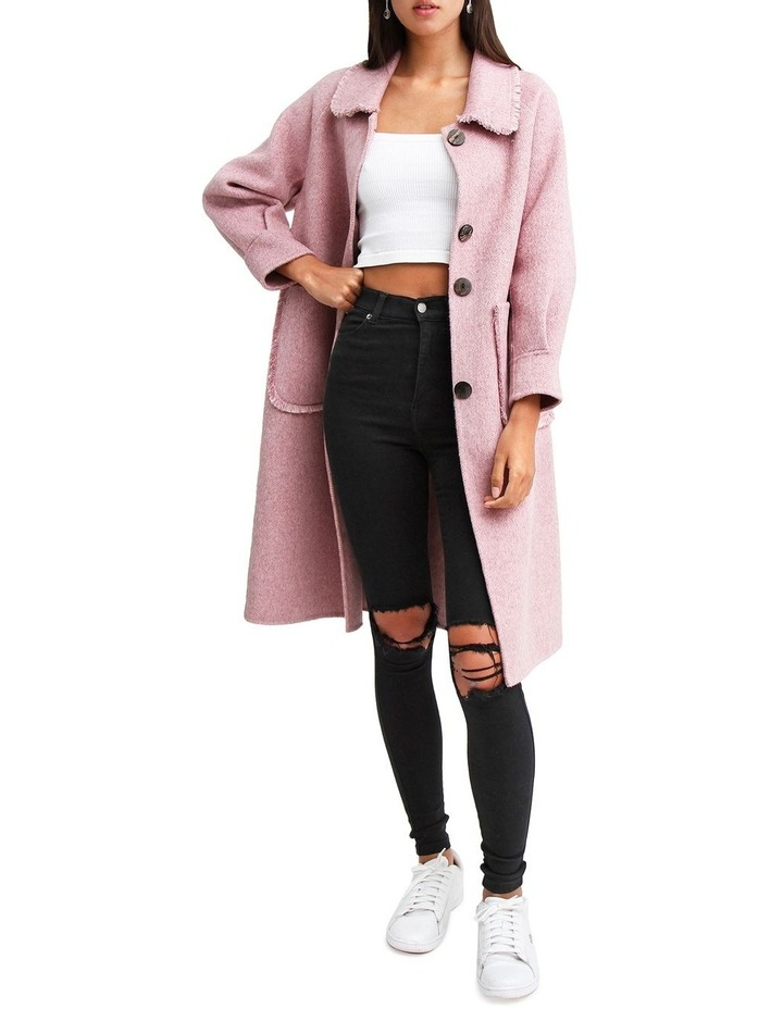 Lived In Love Lilac Wool Blend Coat image 6