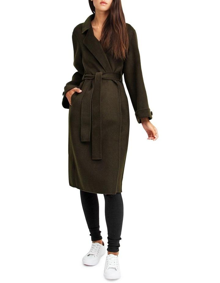 Stay Wild Military Oversized Wool Coat image 1