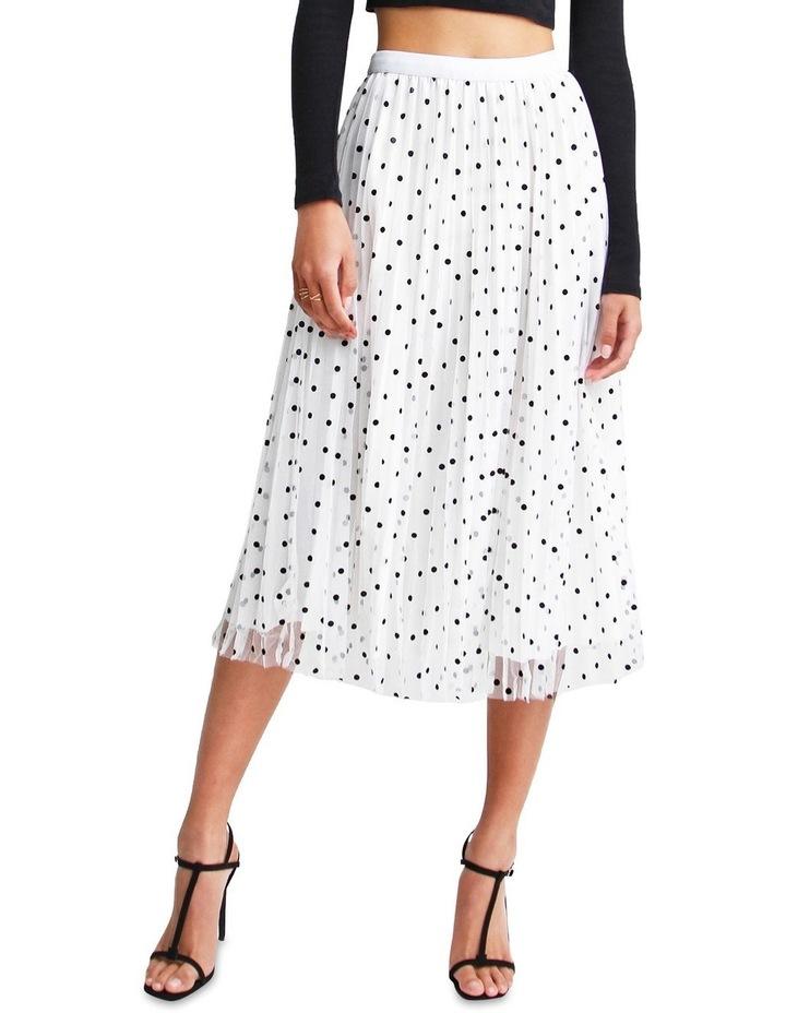 Mixed Feelings White Reversible Skirt image 1