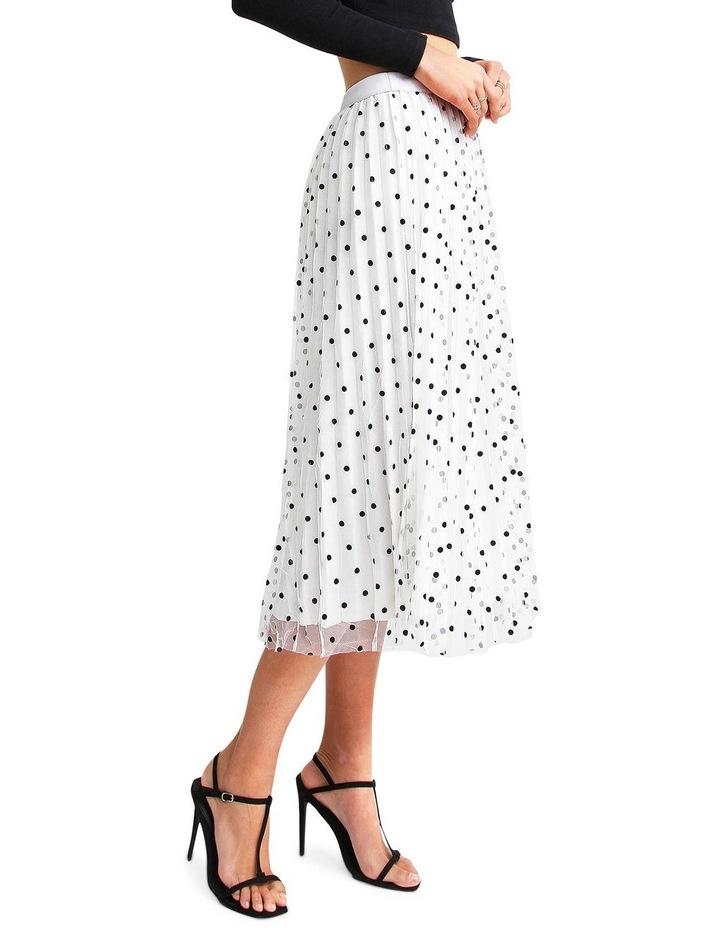 Mixed Feelings White Reversible Skirt image 2