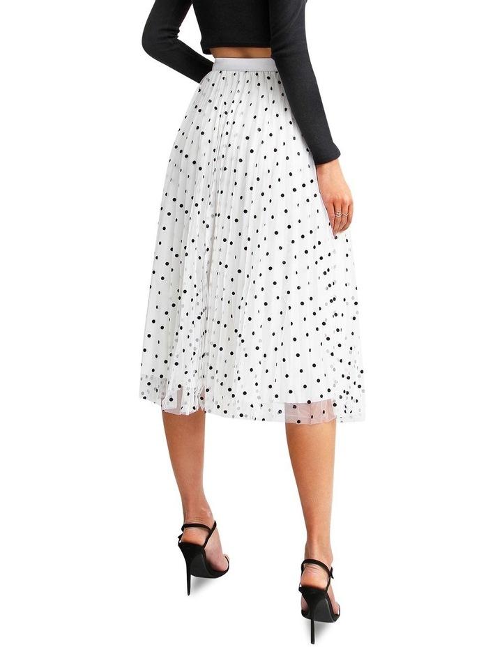 Mixed Feelings White Reversible Skirt image 3