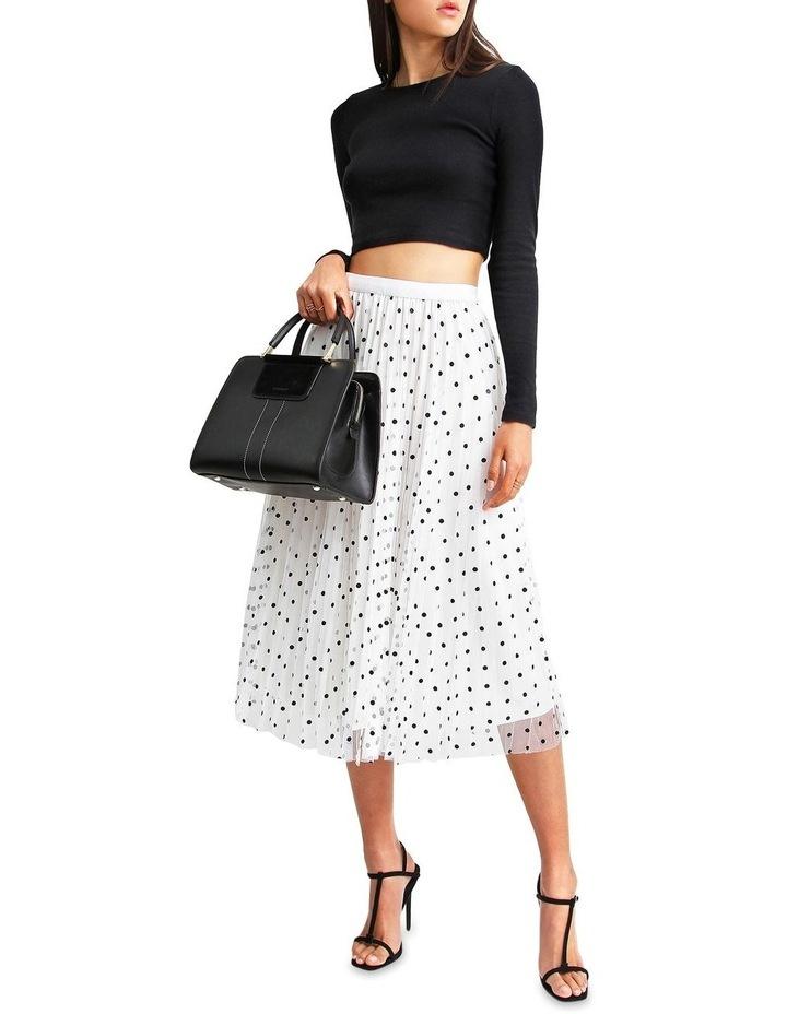 Mixed Feelings White Reversible Skirt image 4