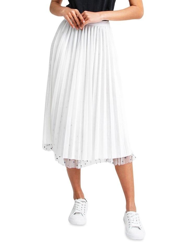 Mixed Feelings White Reversible Skirt image 5