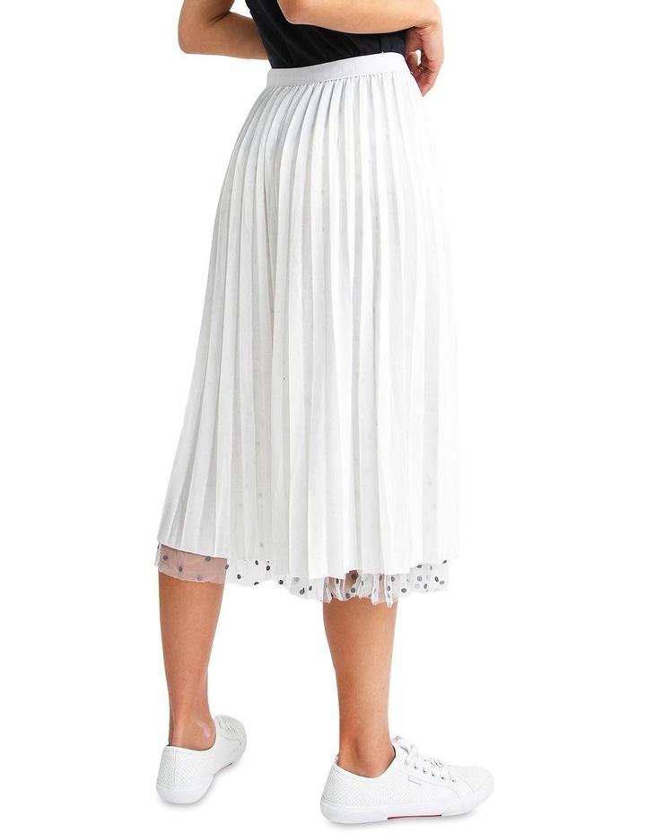 Mixed Feelings White Reversible Skirt image 7