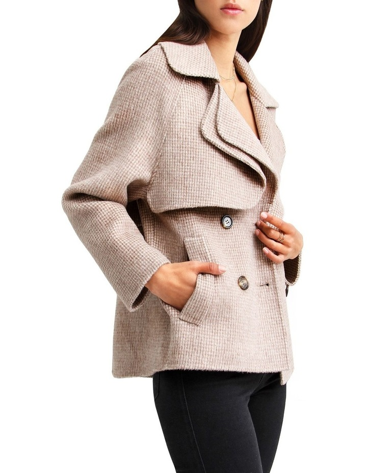 I'm Yours  Beige Wool Blend Peacoat image 2