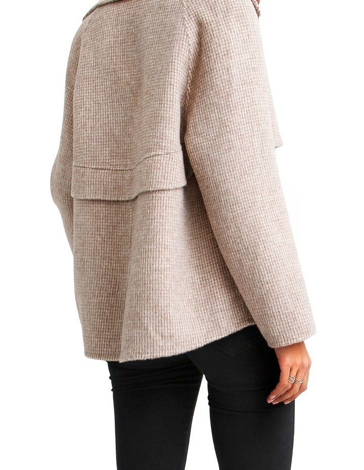 I'm Yours  Beige Wool Blend Peacoat image 3