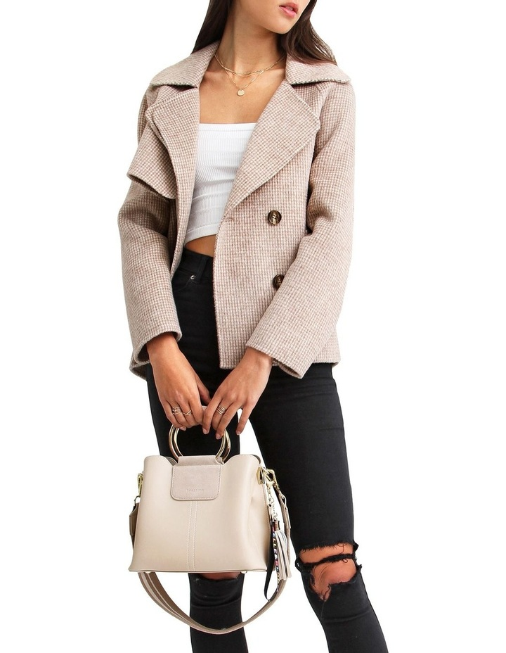 I'm Yours  Beige Wool Blend Peacoat image 5